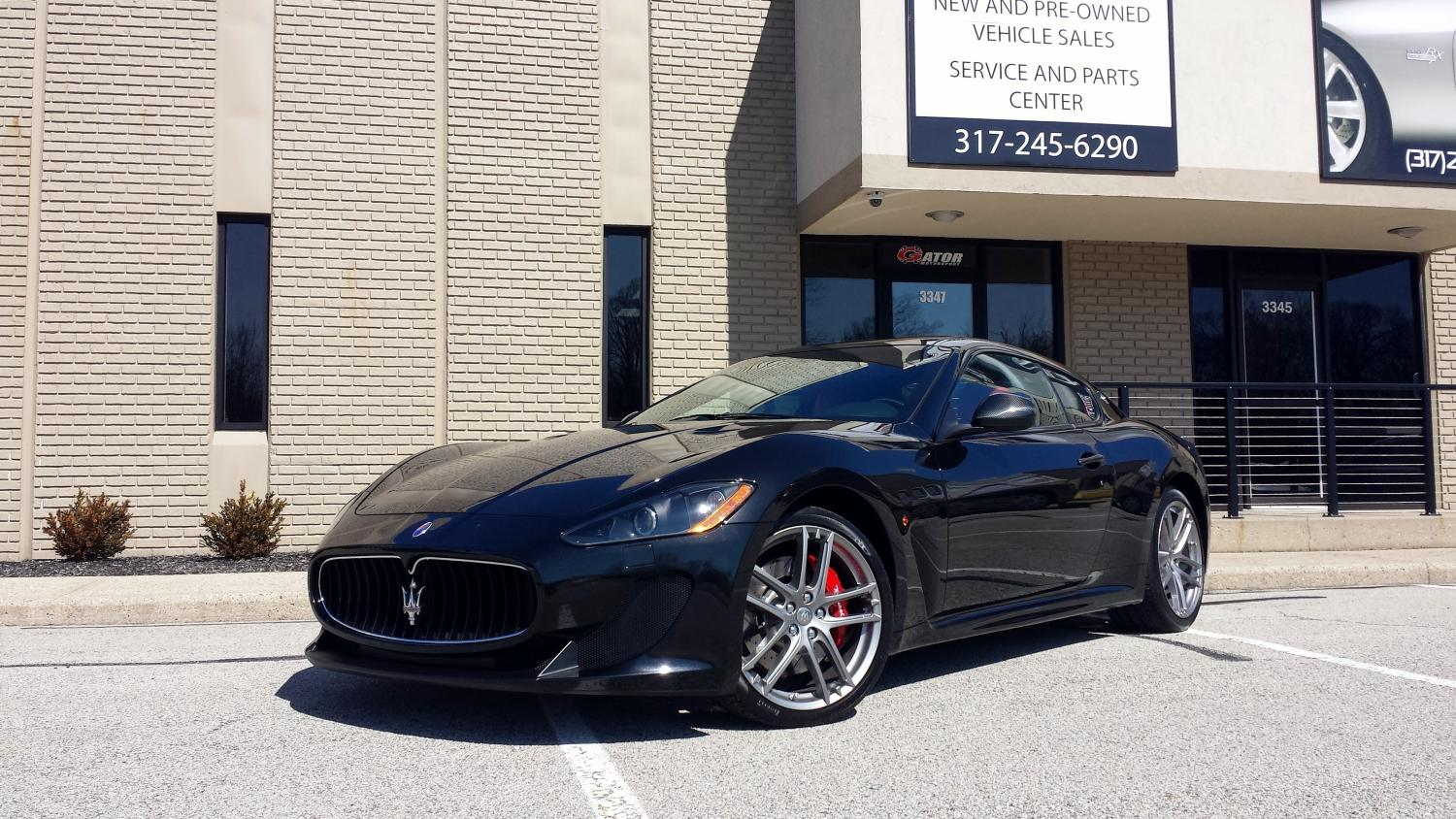 2012 Maserati Granturismo Mc Sold Thank You J L From