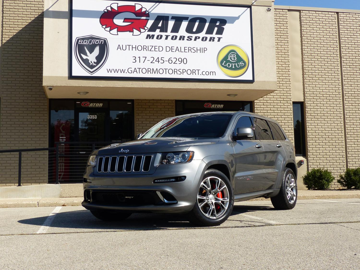 Sold 2012 Jeep Srt8 Thank You B A From Indpls In